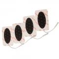 Electrodos ovalados 4.5x10cm  ProM 0-28